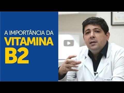 A importância da vitamina B2
