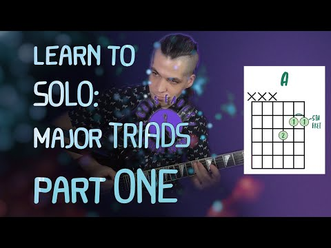 Here's a video from my guitar teaching channel on Youtube!  In this video, we'll introduce major triad chords on the guitar.