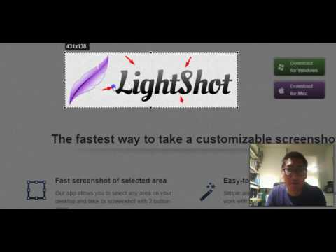 How to use customizable screenshot tool Lightshot