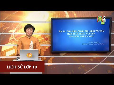 HANOITV MÔN LỊCH SỬ - LỚP 10 | BÀI 25 | 14H15 NGÀY 11.04.2020 | HANOITV