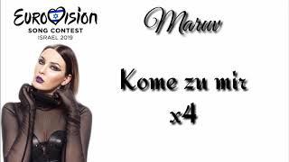 MARUV - Siren Song (Lyrics Video) Eurovision 2019 Ukraine   Vidbir 2019