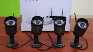How to install Camera Security System? sold by Amgaze