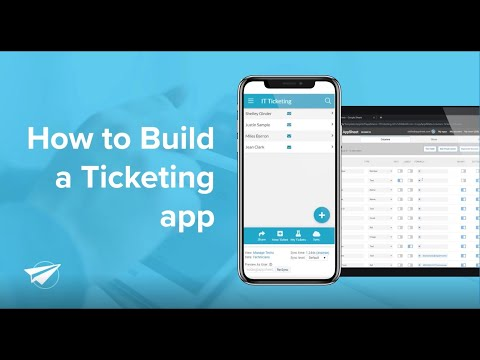 How to Build a Ticketing App for any Department Without Code [2019]