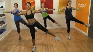 Fat Blasting 10-Minute Workout Video With Jeanette Jenkins by popsugarliving