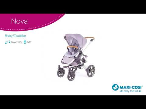 Maxi-Cosi l Nova pushchair l How to fold
