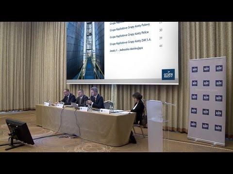 Prezentacja wyników finansowych Grupy Azoty S.A. za III kwartał 2014 - zdjęcie