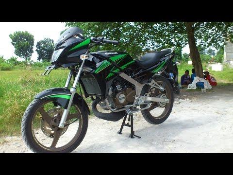Review Kawasaki Ninja R SE Special Edition 2015 castwheel Titanium gold