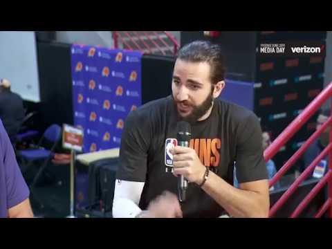 Suns Media Day 2019 | Ricky Rubio Interview