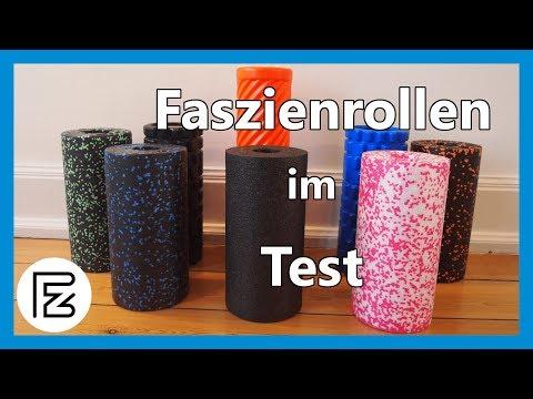Faszienrollen im Test und Vergleich (Blackroll, Blackroll Orange, Pinofit, Balance Roll, usw)