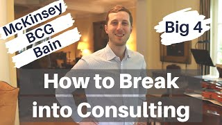 HOW TO BREAK INTO CONSULTING - Insights from Ex-McKinsey project lead (with consulting Q&A)
