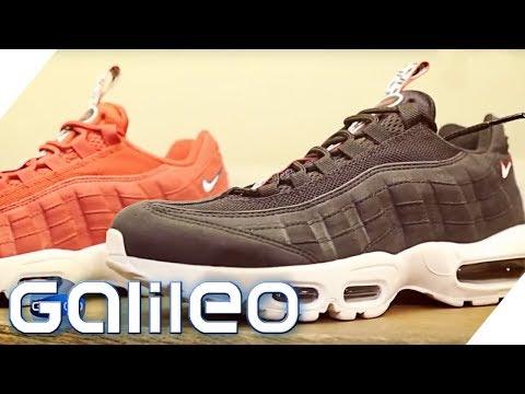 Sneaker-Produktion: Daran erkennt man einen guten Schuh | Galileo | ProSieben