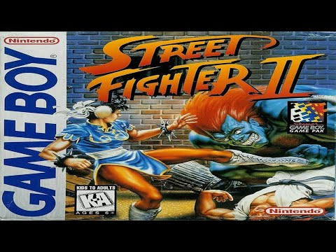 Street Fighter II - Game Boy Longplay - No Death Run (M.BISON) - (Real GB on GBA SP Colors)