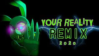 FNAF VR HELP WANTED SONG | Your Reality (2020 Remix) | FLASHING COLORS/LIGHTS