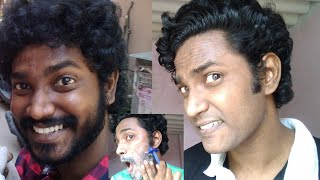 Shaving Face With Safety Razor Without Cutting Face | Beauty Tips For Men's | Tamil | Vinothjustice