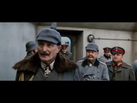 Kaiser Wilhelm invites Baron von Richthofen to the front lines