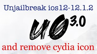 UNINSTALL / REMOVE iOS 12 - 12 1 2 Unc0ver Jailbreak WITHOUT
