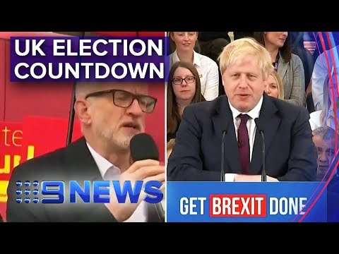 UK Parties make final pitches ahead of election | Nine News Australia