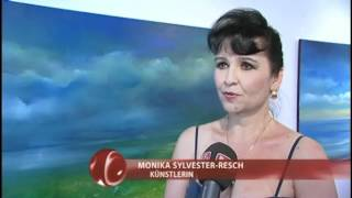 preview picture of video 'Vernissage Kunsthaus Rust Monika Sylvester-Resch'