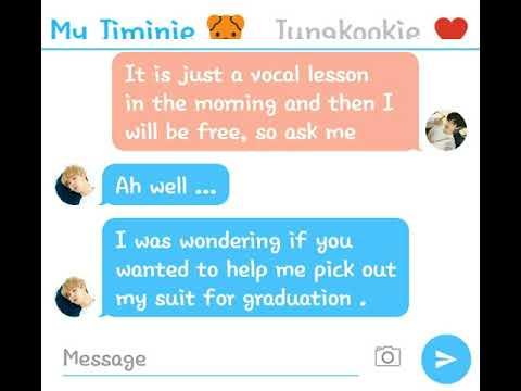 Jikook Texting Story (EP117) Jealous Jiminie pt 2 - Youtube