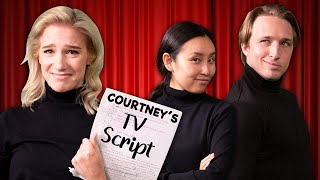Acting Out Courtney's High School TV Script