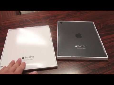 Apples Overpriced Cases! - Apple iPad Pro Silicone Case & Smart Cover - DOUBLE REVIEW!