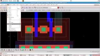 Cadence tutorial - Layout of CMOS NAND gate