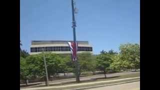 preview picture of video 'monumento figura al che en la habana cuba frente a memorial jose marti'