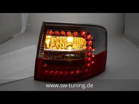 SW Light LED Rückleuchten für Audi A6 4B Avant C5 97-05 red/clear SW-Tuning
