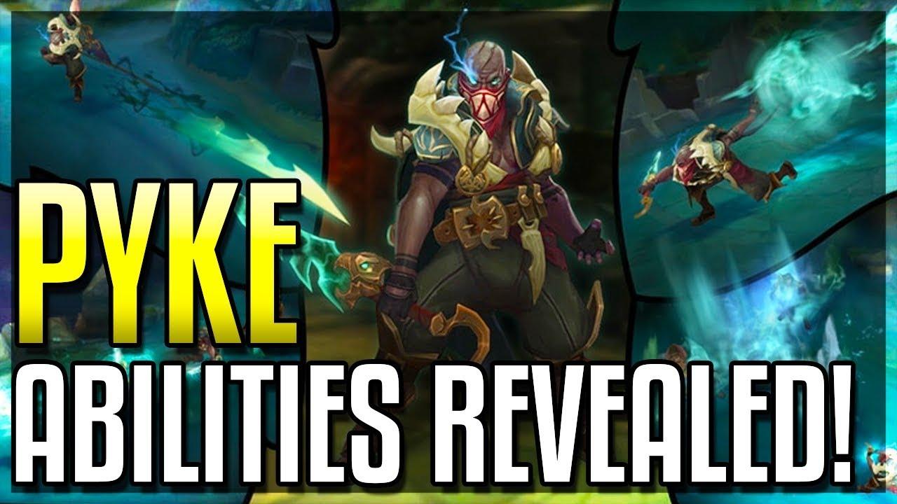 Rivelate le Abilita' di Pyke e il Suo Gameplay
