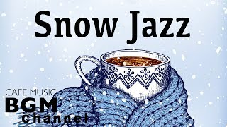 Winter Night Jazz Music - Stress relief - Relaxing Cafe Jazz Music For Sleep, Work, Study