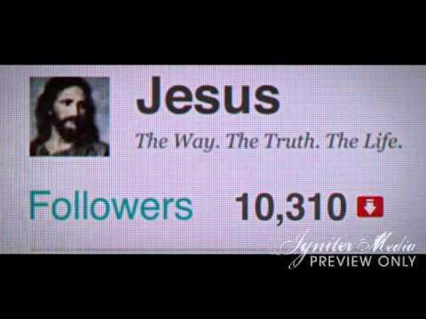 Volg Jezus op Twitter