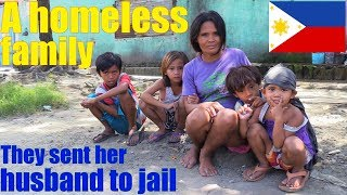 The Homeless People Of The Philippines. Travel To Manila Philippines And Meet Poor Filipinos