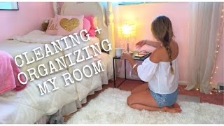 ORGANIZE & CLEAN MY ROOM WITH ME!
