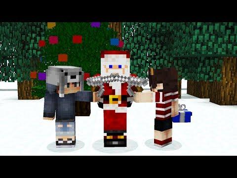 NOOB LAR, HEDİYE DAĞITAN NOEL BABAYI KAÇIRIYOR! - Minecraft #1