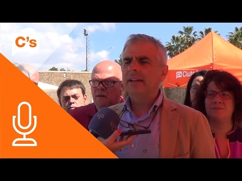 Carlos Carrizosa. Fiesta Ciudadana de la Primavera en Sant Boi de Llobregat