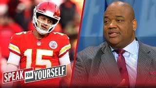 Jason Whitlock has more confidence in Luck than Mahomes this weekend | NFL | SPEAK FOR YOURSELF