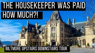 Biltmore Upstairs Downstairs Tour ⬆️ Biltmore Estate Behind the Scenes Tour Asheville North Carolina