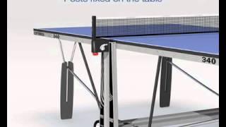 Bordtennisbord Cornilleau Pro 510 Outdoor, Pro 540 Outdoor, Evolutive & Pro 340 Indoor