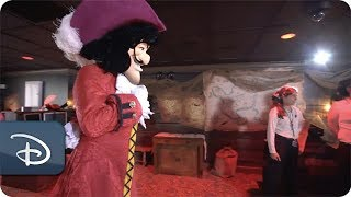 Captain Hook's Pirate Crew Now Open at Disney's Beach Club Resort