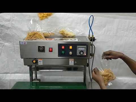 Nitrogen Flushing Band Sealer SS Model