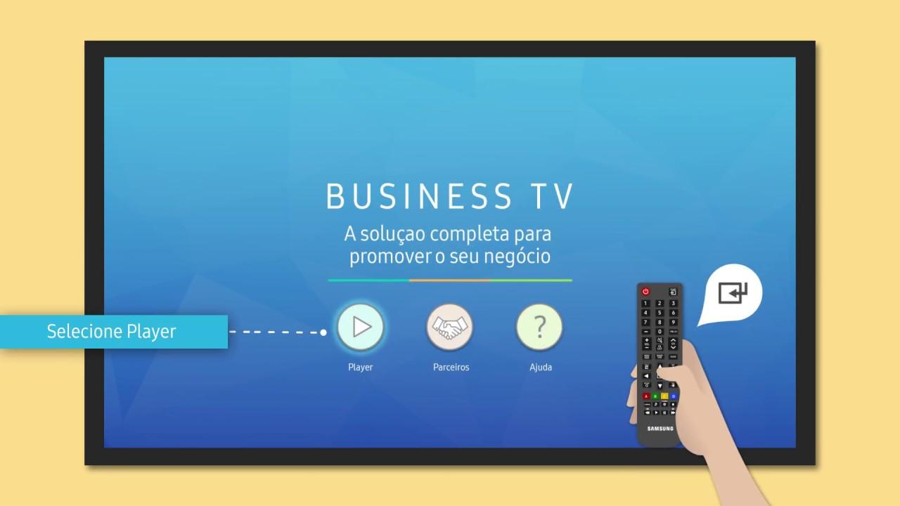 Como executar o agendamento através da internet na Business TV thumbnail