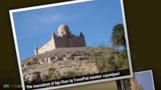 preview picture of video 'Mausoleum of Aga Khan - Aswan, Nile River Valley, Egypt'