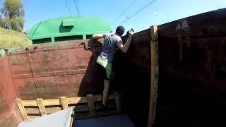 На грузовых поездах к Байкалу (Часть 2). Трейнхоп на товарных поездах по Транссибу на Восток