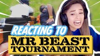 Reacting to MrBeast's $200k Youtuber Battle Royale Video live on stream!