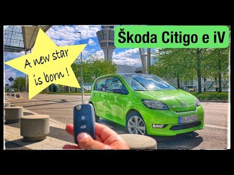2020 Skoda Citigo e iV Style - A new starn is born! Electrive drive for everybody | POV Drive