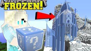 Minecraft: FROZEN HUNGER GAMES - Lucky Block Mod - Modded Mini-Game