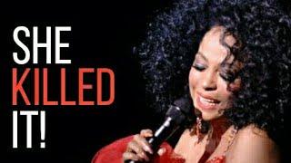 Diana Ross - KILLING 'Missing You' High Belts! (1985-2016)