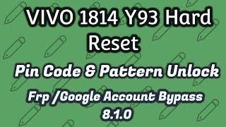 vivo 1814 pattern unlock cm2 - Thủ thuật máy tính - Chia sẽ kinh