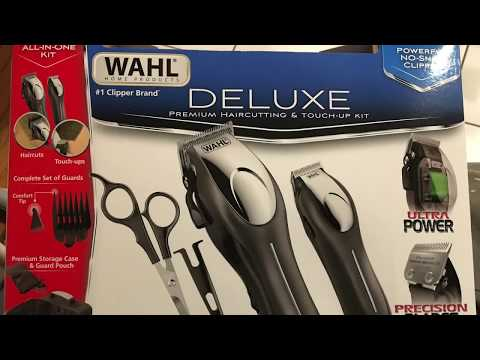 Wahl Deluxe Hair Clippers Review Razor Barber Costco Walmart barbershop haircuts haircut