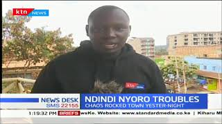 Calm restored in Murang'a as Ndindi Nyoro is released